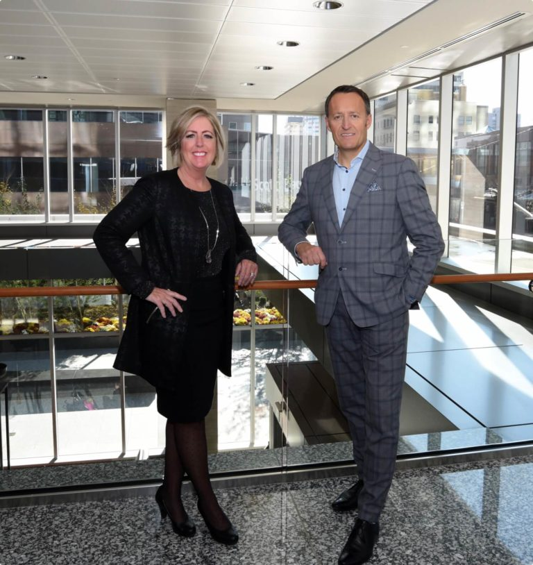 Cheryl Rose, Senior Partner and Mike Mack, President and Managing Partner of X5 Management